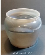 Grey Vintage Glasbake Honey Pot Jar  - $17.75