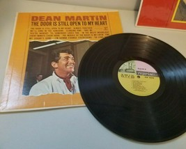 Dean Martin Record Lot Door Is Still Open To My Heart & Welcome to My Wo... - £10.87 GBP