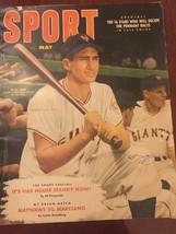 SPORT Magazine May 1952 Matthews vs Marciano Alvin Dark 98 Pages Basebal... - $5.39