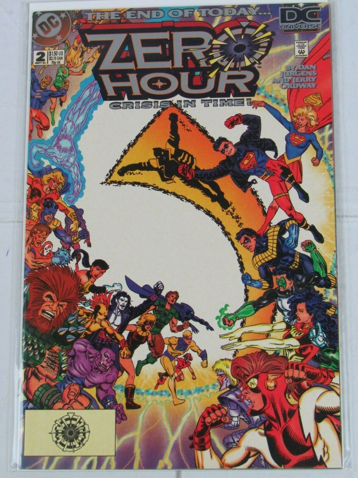 Zero Hour: Crisis in Time #0-4 Lot of 5 Comics DC Comics - C5005