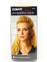 CONAIR POMPADOUR COMB - 6 PIECE KIT  (55681) - $7.99