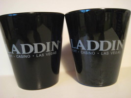 Lot of 2 Original Vintage ALADDIN Resort CASINO Las Vegas Ceramic Coffee Mugs - $19.72