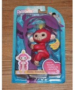 Fingerlings Fingerling Interactive Electronic Toy Pink Finger Monkey Bra... - $18.99