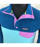 Patagonia Synchilla Fleece Jacket Snap T Multi Color Ski Sweatshirt Smal... - $89.99