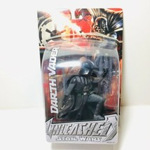 DARTH VADER UNLEASHED Star Wars Figure 2004 Hasbro Open Package  - $20.56