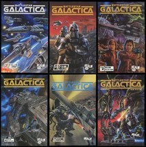 Battlestar Galactica Comic Set 1 2 3 4 5 Lot + Variant Realm Cylon Raide... - $59.00