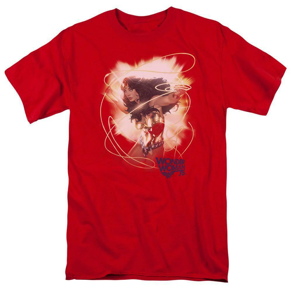 Wonder Woman T-shirt DC comic book Batman Justice League graphic tee JLA716