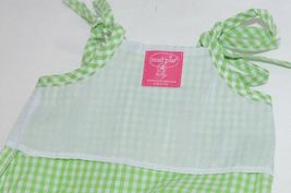 Mud Pie Baby Green Red Gingham Tunic Top Flare Pants 12 18 Months image 5