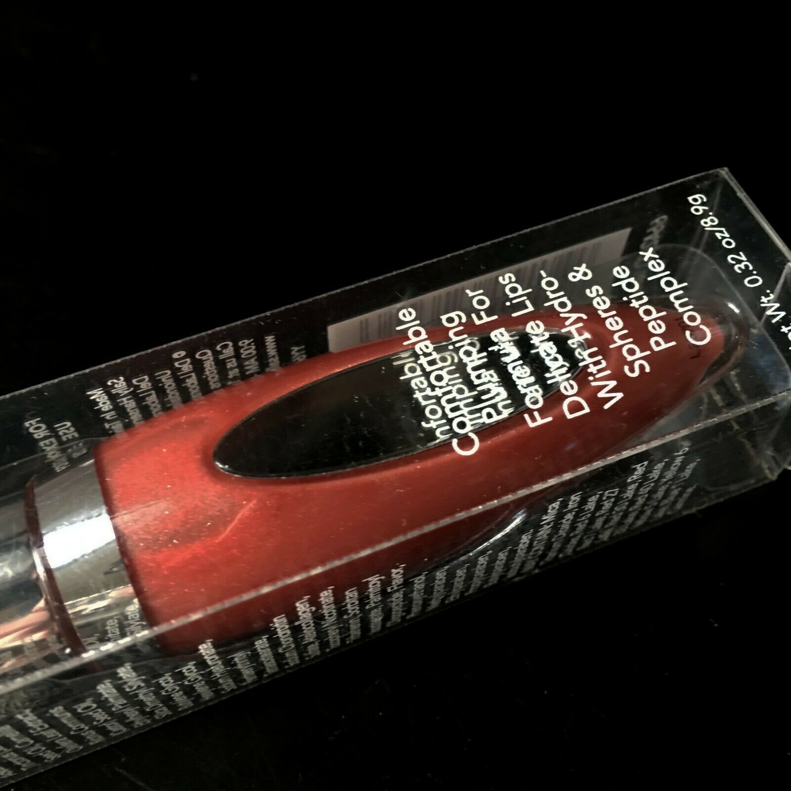SALLY HANSEN*Tube GENTLE PLUMPING Color LIP TREATMENT Gloss TEASE Boxed #6642-20