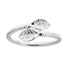 Leaf Ends .925 Sterling Silver West Indian Style Ring (any size) - $25.00