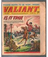Valiant 5/31/1969-IPC-tabloid-Nazi's-WWII-Steel Claw-U.K.-FR/G - $25.22