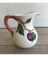 "Vintage Franciscan Apple Large Pitcher Made in California Leaf 6 1/2"" Tall - $64.34"