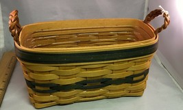 Longaberger 1997 Collectors Club Renewal Basket w/ Protector   - $31.31