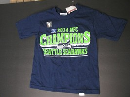 BI Seattle Seahawks  Football toddler 2T shirt 2014 NFC champions delta ... - $39.59
