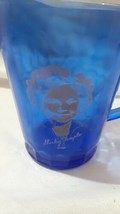 Shirley Temple Cobalt Blue Hazel Atlas Glass Milk Creamer Pitcher 1934-1... - $9.95