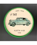1948 AUSTIN A125 Jell-O Picture Wheel #141 - $5.00