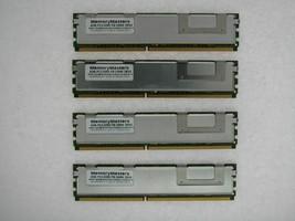 16GB 4x4GB Fb-Dimm Dell Precision T5400 490 690 T7400 Entièrement Serrée Mem Mis
