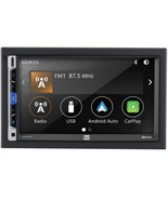 Dual DMCPA70 7-Inch Double-DIN In-Dash Mechless Receiver with Bluetooth,... - $200.12
