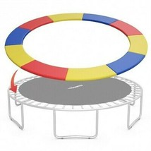12FT Trampoline Replacement Safety Pad Bounce Frame-Multicolor - Color: ... - $114.65