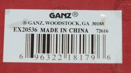 Ganz EX20536 Light Up Christmas Tree 12 Ornaments 6 Inches Glass image 12