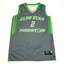 Club Utah Mountain Basketball Jersey Youth Size Medium Tank Top REVERSIB... - $23.53