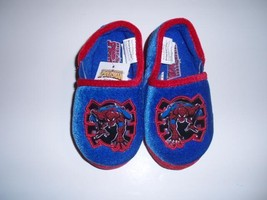 NEW Spider-Man Kid's Slippers Size Medium 7/8 - $9.49