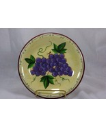 Sonoma Lifestyles Grapes Salad Plate - $4.15
