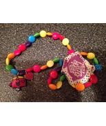 Little Men Little Miss Chatterbox Multi Color Stretch Necklace & Bracele... - $14.99