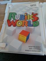 Nintendo Wii Rubik's World ~ COMPLETE image 2