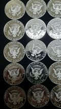 2019 S Silver Proof Kennedy Half Dollar Roll of 20 .999 Silver Gem Coins Lot # 2 image 6