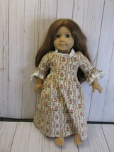 American Girl Doll Felicity 1990's Pleasant Company Original Rose Garden Dress - $68.31