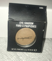 Mac Eyeshadow Eye Shadow SOBA Satin 1.5g/0.05oz Full Size New In Box - $44.16