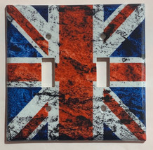 UK United Kingdom Flag Light Switch Power Outlet wall Cover Plate Home Decor image 3