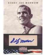 2012 Americana Heroes Legends Signatures #125 Bobby Joe Morrow NM-MT /39... - $15.00