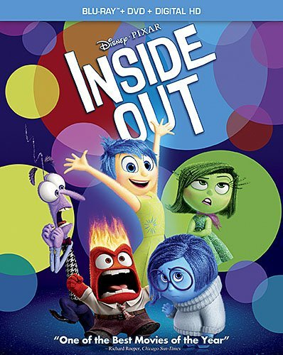 Disney Pixar Inside Out (Blu-ray/DVD Combo Pack)