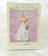 Hallmark Christmas Ornament Springtime Barbie 1995 Easter Collection #2 - $14.84