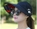 N foldable wide large brim floppy beach gorro hats chapeu outdoors visors cap anti thumb155 crop