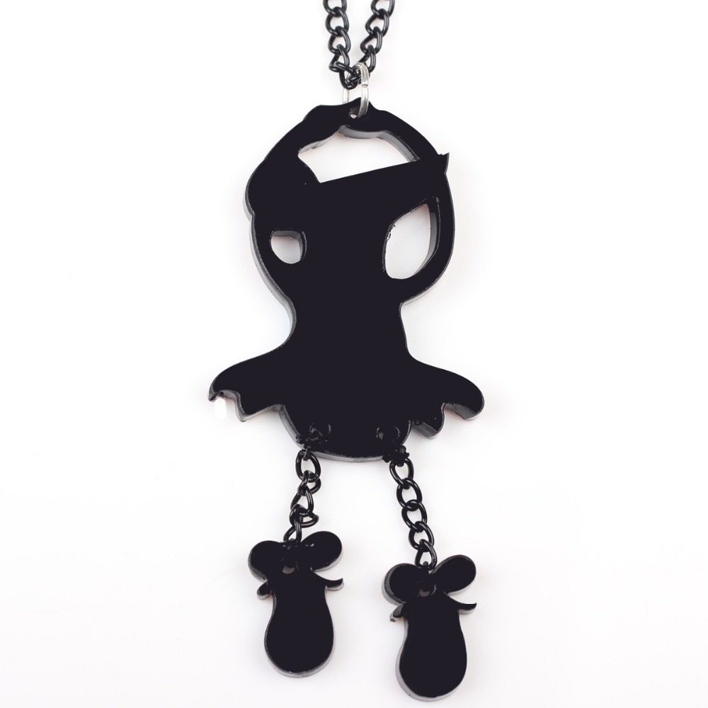 dance mouse necklace pendant acrylic  2015 news accessories spring summer cute d image 4
