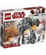 LEGO STAR WARS 75189 FIRST ORDER HEAVY ASSAULT WALKER LAST JEDI!!  IN HA... - $296.01