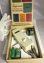 Vintage Singer Professional Buttonholer SIMS 4642 Slant Needle Zig Zag Machines - $12.73