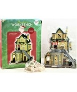 Santa's Workbench Christmas Village London Links Townehouse Victorian Se... - $49.49