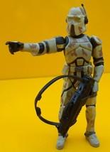 "STAR WARS ™ Hasbro AT-RT Driver 2008 Order 66 Figure 3.75"" Clone Trooper - $12.17"