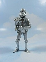 "Star Wars Sandtrooper Silver Saga Edition Loose 4"" Action Figure Release... - $13.85"