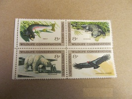1971 8 Cent Wildlife Conservation U.S. Stamp 4 Unused #2 - $1.00
