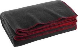 "Grey Wool Emergency Rescue Blanket 60"" x 80"" Warm Winter Cover Throw - $19.99"