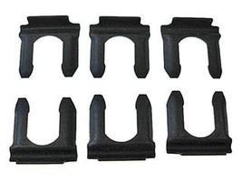 Chevy GM drum disc rubber brake line flex hose retainer clips - 6 pcs uclip - $4.82
