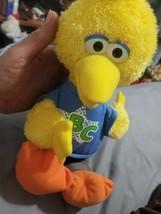 """Sesame Street Plush Big Bird ABC Rocking Talking Singing 14"""" Toy Hasbro ... - $11.88"""