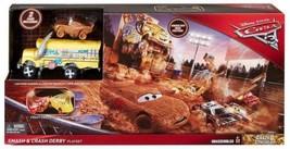 Disney/Pixar Cars 3 Crazy 8 Crashers Smash & Crash Derby Playset  - $33.58