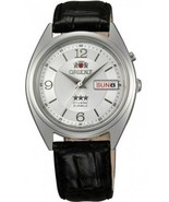 Orient 3 Star FAB0000KW  Orient automatic men's watch leather band - $69.00