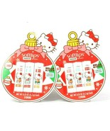 2 Softlips Hello Kitty Limited Edition 3 Ct Vanilla Cranberry Cookie Lip... - $27.99
